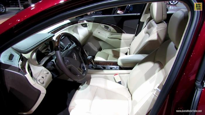 2014 Buick Lacrosse Ny Autoshow 1 Car Interior Design