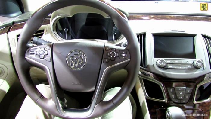 2014 Buick Lacrosse At 2013 Ny Auto Show