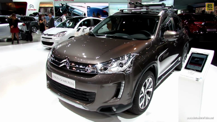 2014 citroen c4 aircross at 2013 frankfurt motor show. Black Bedroom Furniture Sets. Home Design Ideas