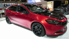 2014 Dodge Dart Scat Pack 3 at 2014 Montreal Auto Show