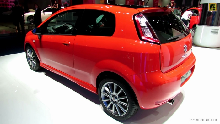 2014 fiat punto at 2013 frankfurt motor show. Black Bedroom Furniture Sets. Home Design Ideas