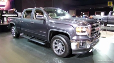 2014 GMC Sierra SLT at 2013 Detroit Auto Show