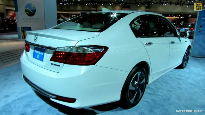 2014 honda accord plug in hybrid at 2013 los angeles auto show. Black Bedroom Furniture Sets. Home Design Ideas