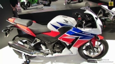 2014 Honda CBR300R at 2013 EICMA Milan Motorcycle Exhibition
