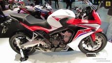 2014 Honda CBR650F at 2013 EICMA Milan Motorcycle Exhibition