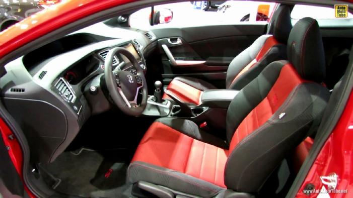 2014 honda civic si coupe at 2014 montreal auto show for 2014 honda civic si sedan interior