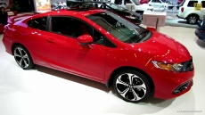 2014 Honda Civic Si Coupe at 2014 Montreal Auto Show