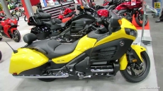 2014 Honda Gold Wing F6B at 2013 New York Motorcycle Show