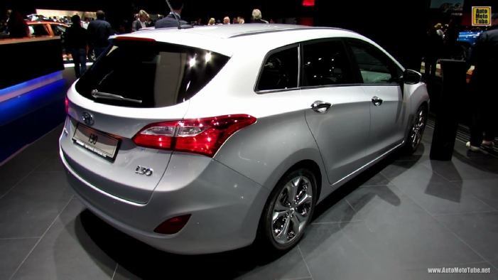2014 hyundai i30 wagon diesel at 2013 frankfurt motor show. Black Bedroom Furniture Sets. Home Design Ideas
