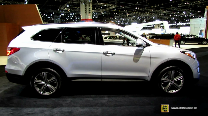 2014 hyundai santa fe limited awd at 2014 chicago auto show. Black Bedroom Furniture Sets. Home Design Ideas