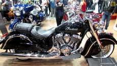 2014 Indian Chief Classic at 2013 EICMA Milan Motorcycle Exhibition