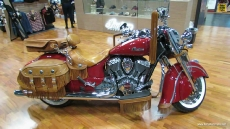 2014 Indian Chief Vintage at 2013 New York Motorcycle Show