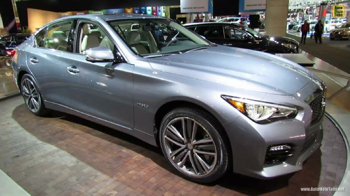 2014 infiniti q50 hybrid at 2013 toronto auto show. Black Bedroom Furniture Sets. Home Design Ideas