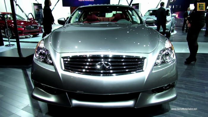 2014 Infiniti Q60 IPL Coupe (G37 Coupe) at 2013 New York Auto Show