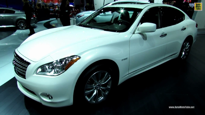 2014 Infiniti Q70 Hybrid M35 At 2013 Ny Auto Show   Apps Directories