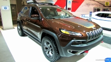2014 Jeep Cherokee Trailhawk Mopar at 2013 Los Angeles Auto Show