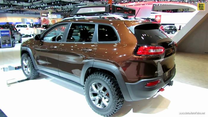 2014 Jeep Cherokee Trailhawk Mopar At 2013 Los Angeles Auto Show