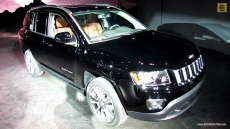 2014 Jeep Compass Limited at 2013 Detroit Auto Show