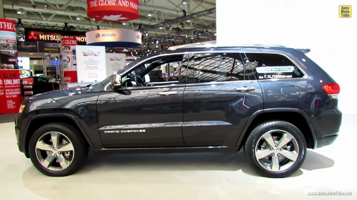2014 jeep grand cherokee overland diesel at 2013 toronto auto show. Cars Review. Best American Auto & Cars Review