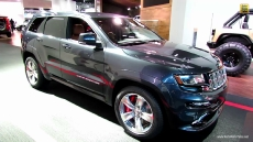 2014 Jeep Grand Cherokee SRT at 2013 Detroit Auto Show