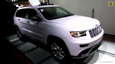 2014 Jeep Grand Cherokee Summit at 2013 Detroit Auto Show