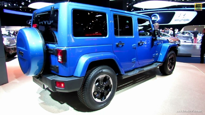 2014 Jeep Wrangler Unlimited Polar Diesel At 2013 Frankfurt Motor Show.  WALLPAPERS