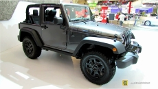 2014 Jeep Wrangler Willys Wheeler at 2014 Toronto Auto Show