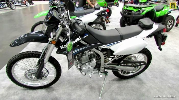 2014 Kawasaki KLX250S at 2013 New York Motorcycle Show