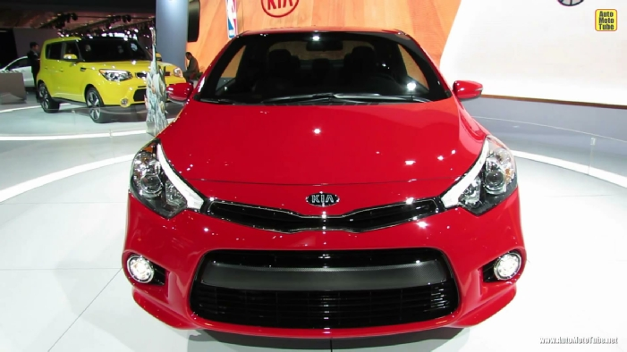 2014 KIA Forte Koup Debut at 2013 NY Auto Show
