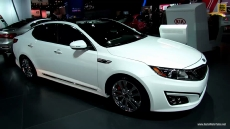 2014 KIA Optima SXL at 2013 NY Auto Show