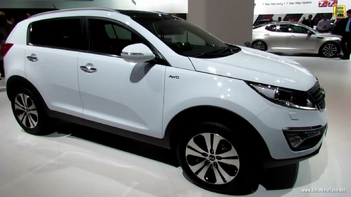 2014 kia sportage awd diesel at 2013 frankfurt motor show. Black Bedroom Furniture Sets. Home Design Ideas