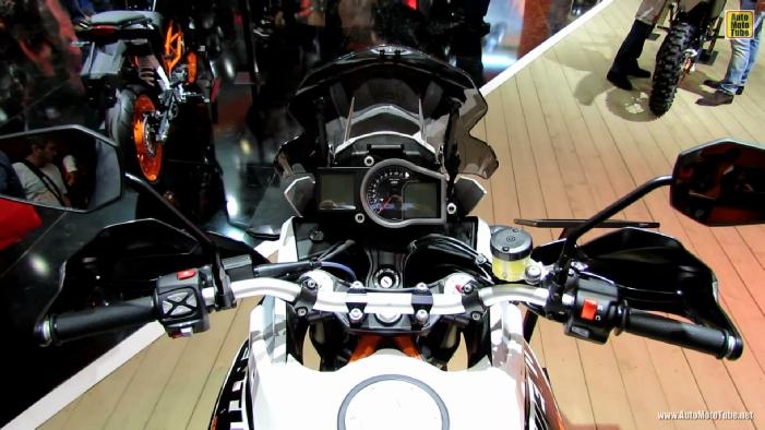 2014 KTM 1190 Adventure R at 2013 EICMA Milan Motorcycle Exhibition