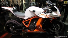 2014 KTM RC8 1190R at 2013 EICMA Milan Motorcycle Exhibition