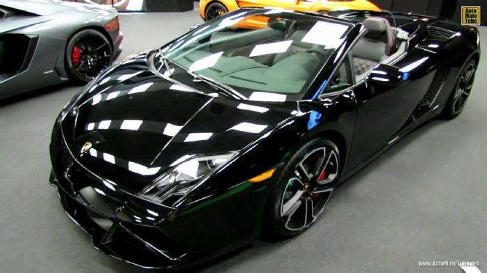 2014 Lamborghini Gallardo Lp560 4 Spyder At 2014 Montreal Auto Show