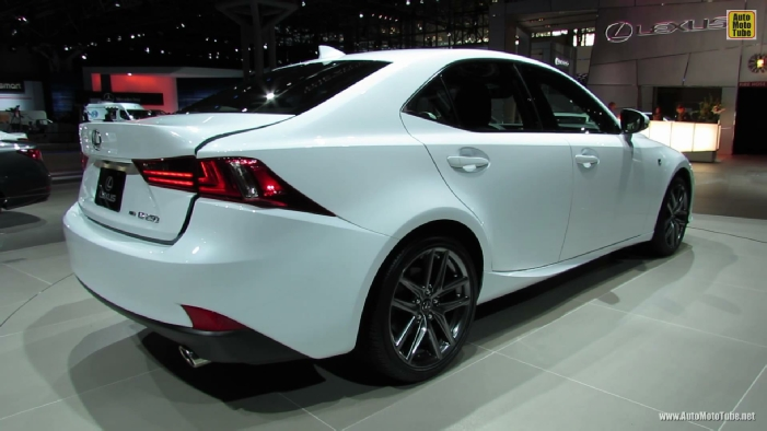 2014 lexus is250 f sport at 2013 ny auto show. Black Bedroom Furniture Sets. Home Design Ideas