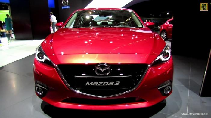 2014 Mazda 3 SkyActiv Sedan Sport Line at 2013 Frankfurt Motor Show