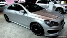 2014 Mercedes-Benz CLA Class at 2013 NY Auto Show