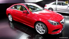2014 Mercedes-Benz E550 Coupe at 2013 Detroit Auto Show