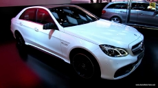 2014 Mercedes-Benz E63 S AMG at 2013 Detroit Auto Show