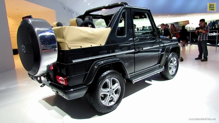 2014 mercedes benz g class g500 cabrio at 2013 frankfurt. Black Bedroom Furniture Sets. Home Design Ideas