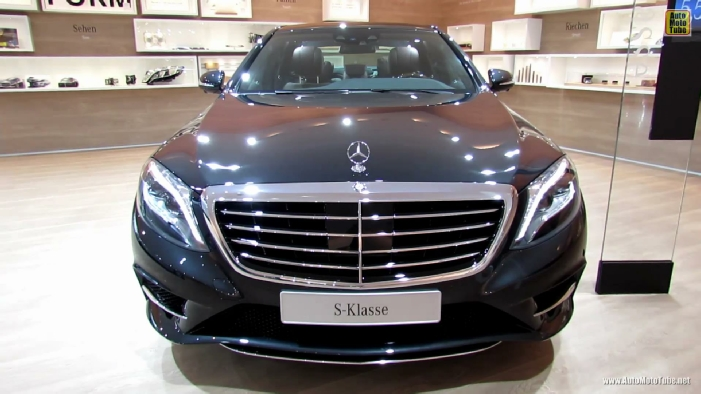 2014 mercedes benz s class s350 at 2013 frankfurt motor show for Mercedes benz s350 2014