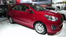 2014 Mitsubishi Mirage 4G Sedan at 2014 Montreal Auto Show
