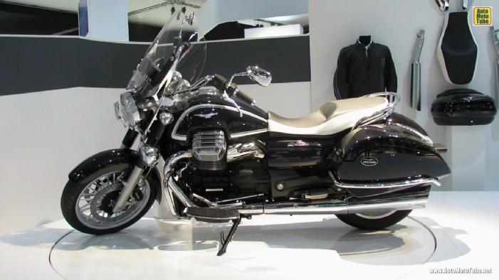 2014 Moto Guzzi California Touring at 2013 EICMA Milan Motorcycle ...