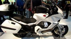 2014 Moto Guzzi Norge GT 8V at 2013 EICMA Milan Motorcycle Exhibition