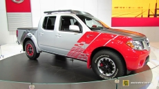 2014 Nissan Frontier Diesel Runner at 2014 Chicago Auto Show