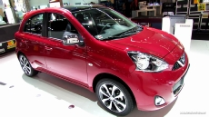 2014 Nissan Micra Exterior and Interior at 2013 Frankfurt Motor Show