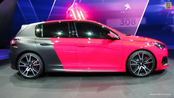 2014 Peugeot 308 R Concept At 2013 Frankfurt Motor Show