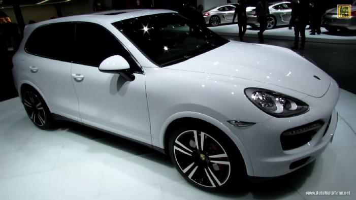 2014 Porsche Cayenne Turbo S At 2013 Detroit Auto Show