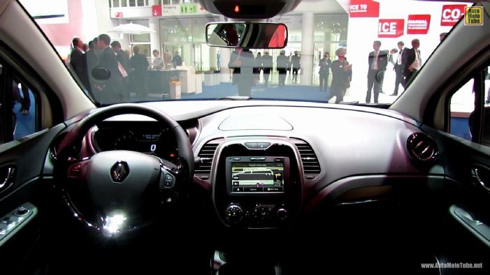 Renault Captur 2014 Interior 2014 Renault Captur Diesel at