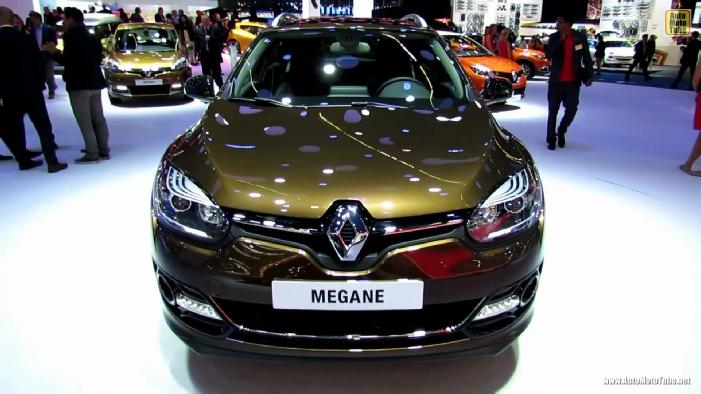 2014 Renault Megane Sport Tourer Estate At 2013 Frankfurt Motor Show